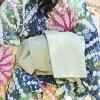 綿麻花火刺繍入りゆかた用半幅帯