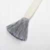 「和小物さくら」七宝組市松模様の正絹帯締め